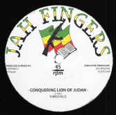 Vibronics - Conquering Lion Of Judah / Dub Mix 1 / Dub Mix 2 (Jah Fingers) 12""